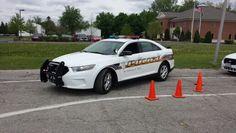 University of Toledo Police Car 17