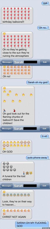 Sarah Oh My God