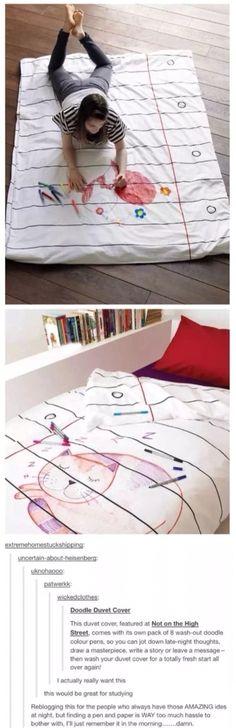 Drawing bed sheet