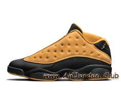 quality design 2a9bb 65f54 Air Jordan 13 Retro Low Chutney 310810-022 Chaussures Jordan Pas cher pour  homme jaune