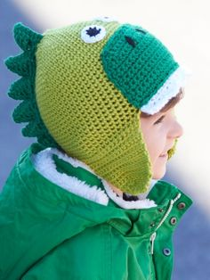 Hatosaurus | Yarn | Free Knitting Patterns | Crochet Patterns | Yarnspirations