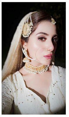 Sohai Ali Abro Looks Angelic in this White Bridal Attire on set of 👀⭐⚡ 😍 ✨