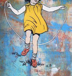 Skipping Girl David Bromley