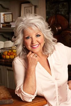 Paula Deen- I'll stand this lady one hundred percent.
