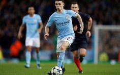 Download wallpapers Phil Foden, match, 4k, footballers, Manchester City, Premier League, soccer, Man City