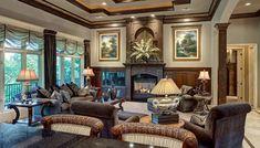 Kansas City Great Room Interior Design   Design Connection, Inc.