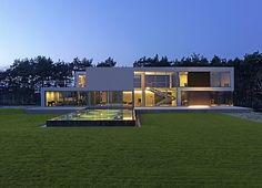 Minimal modern house in Poland.