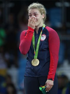 USA's Helen Maroulis wins gold in women's freestyle wrestling