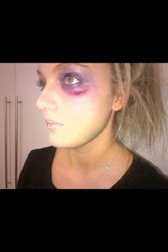 How To Make Homemade Face Makeup and Bruises For Halloween ...