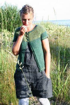 dress + cardigan, Daffodil pattern by Orianna Eklund