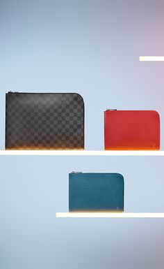 Finding all those little things is important. Varying in sizes and leather materials, the Louis Vuitton pochette is a must have for this year's Holiday travels.