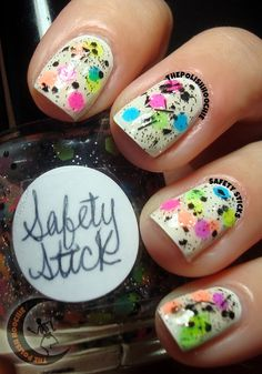 Tonight I have a fabulous polish to share with you all. I originally thought I would like this polish the least of my Halloween polish, and. My Nails, Art Ideas, Safety, Polish, Nail Art, Security Guard, Vitreous Enamel, Manicure, Nail Arts