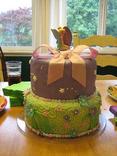 Tinker bell Cake by SarahsCupcakes, via Flickr