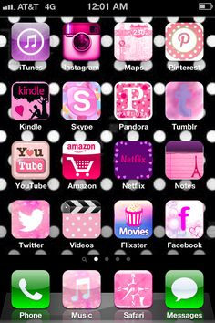 I made my iPhone icons pretty.