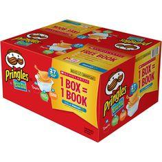 Pringles Potato Crisps Variety Pack, 27 count, 19.19 oz walmart $7.98 .29c/ea