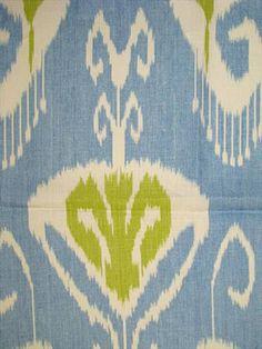 Bansuri Capri - yard Remnant:Kravet fabric- An echo Design Fabric, linen up the roll multi purpose decorator fabric. DB up the roll repeat. Ikat Fabric, Chair Fabric, Fabric Decor, Fabric Design, Ikat Pattern, Pattern Art, Fabric Patterns, Art Patterns, Blue Colour Palette