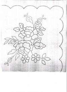 manteles bordados a mano patrones ile ilgili görsel sonucu Hungarian Embroidery, Simple Embroidery, Hand Embroidery Stitches, Embroidery Needles, Hand Embroidery Designs, Chain Stitch, Cross Stitch, Beaded Jewelry Patterns, Stencil Designs