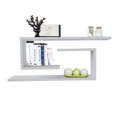 "Easter OUTT® ""J"" Wooden Wall Floating Shelf Rack Decorative Display Ledge Storage Set of 2 White OUTT,http://www.amazon.com/dp/B00J8FMTFC/ref=cm_sw_r_pi_dp_tZPttb1ZDQB5ZY0Y $29.99"