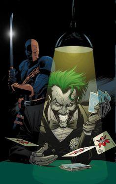 Deathstroke - The Joker by Lee Weeks
