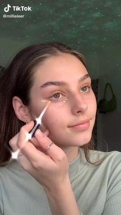 Makeup Eye Looks, Soft Makeup, Crazy Makeup, Natural Makeup Looks, Cute Makeup, Simple Makeup, Makeup Hacks Videos, Makeup Looks Tutorial, Makeup Transformation