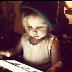 baby lux in harry's beanie i am jealous of a two year old lol