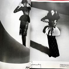 A treasury of images from past fashion glossies filled with inspiration and surprises. This one from a seventies French Vogue. . . . #vogue #nostalgia #archival #fashion #inspiration