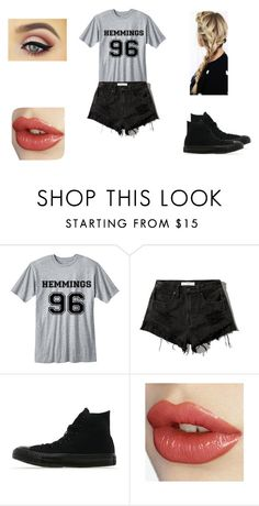 """random #5"" by lesliecalderon125 on Polyvore featuring Abercrombie & Fitch and Converse"