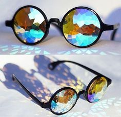 Cool~ but how to see through this glasses?