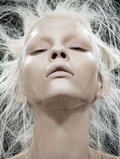 "Kate Bogucharskaia in ""Natural Vision""byDavid DunanforVogue China,April 2014"
