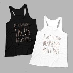 Find the best bachelorette tee for your party/crew/bride squad. The cute, the clever, the classy, and the crassy—we got 'em all! Classy Bachelorette Party, Disney Bachelorette, Bachelorette Party Planning, Bachlorette Party, Bachelorette Party Shirts, Bachelorette Weekend, Wedding Party Shirts, Bridesmaid Shirts, Bridesmaids