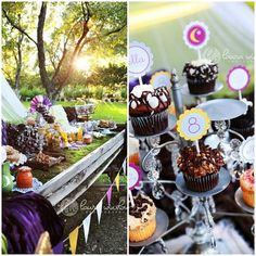 camping themed birthday party---definitely doing this one year!