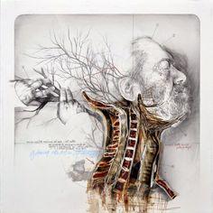 ~Nunzio Paci, Anatomik sanat. http://www.mozzarte.com/sanat/nunzio-pacianatomik-sanatinsan-ve-doga/