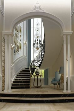 Beautiful Entrance ~Wealth and Luxury ~Grand Mansions, Castles, Dream Homes & Luxury homes
