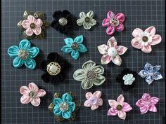 DIY Stoff-Blumen selber machen - YouTube