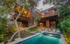 """modernhomeslosangeles: Ray Kappe's """"Dailey House"""" Moves Quickly in the Night"""