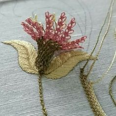 This Pin was discovered by Iğn Hobbies And Crafts, Diy And Crafts, Brazilian Embroidery, Needle Lace, Crewel Embroidery, Lace Making, Bead Crochet, Butterfly Wings, Hand Stitching