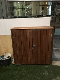 Timber services cabinet