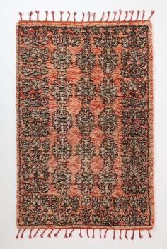 The perfect rug to adorn a desk area!   Anthropologie Bankia Rug available here http://rstyle.me/~Gi3Z