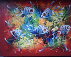 pintura de peces en pinterest - Buscar con Google