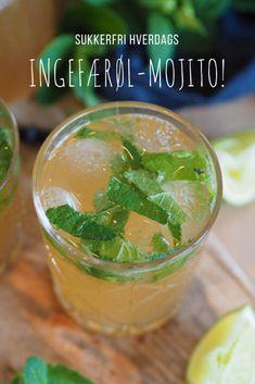 Til 1 drink trenger du: 6 mynteblader Mojito, Snow Globes, Drinking, Food And Drink, Vegetables, Drinks, Drink, Veggies, Veggie Food