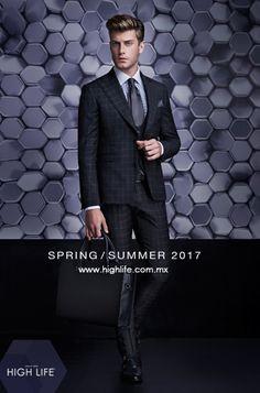 Un traje a la medida, una camisa de vestir, y una corbata perfectamente atada, crean una exquisita elegancia, en esta temporada. #HighLife