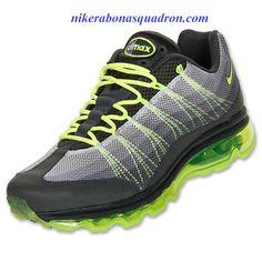 2e647411f3d1 Nike Air Max 95 Dynamic Flywire Mens Anthracite Volt Dark Grey 554715 070 Air  Max 95