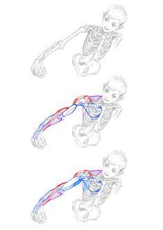 수업을 위해 만든 자료.   팔근육.   지금보니 나도 몇개 까먹.. 다시 공부해야지..