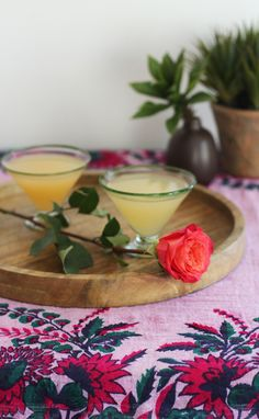 The Tequila Rose (perfect Cinco de Mayo cocktail!)