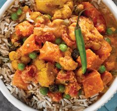 Slow Cooker Navratan Korma from Vegan Slow Cooking for Two