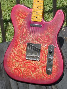 1969 Fender Telecaster Paisley.