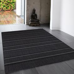 Patio Striped Rug by Asiatic Striped Rug, Large Rugs, Rug Size, Patio, Slate, Presents, Type, Classic, Floral