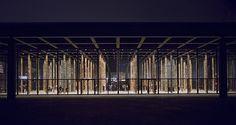 """David Chipperfield """"Sticks and Stones, an Intervention"""" (2014). Neue National Gallerie Roxane Rey Très beau musée d'art moderne"""