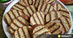 Nutellás-mascarponés kekszsüti recept képpel. Hozzávalók és az elkészítés részletes leírása. A nutellás-mascarponés kekszsüti elkészítési ideje: 20 perc Health Eating, Nutella, Cookie Recipes, French Toast, Recipies, Food And Drink, Snacks, Cookies, Drinks