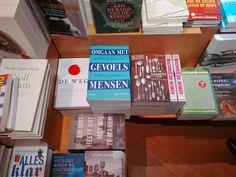 Leuk hoor, het boek #omgaanmetgevoelsmensen van #sjaakoverbeeke bij #boekhandellos in Bussum.